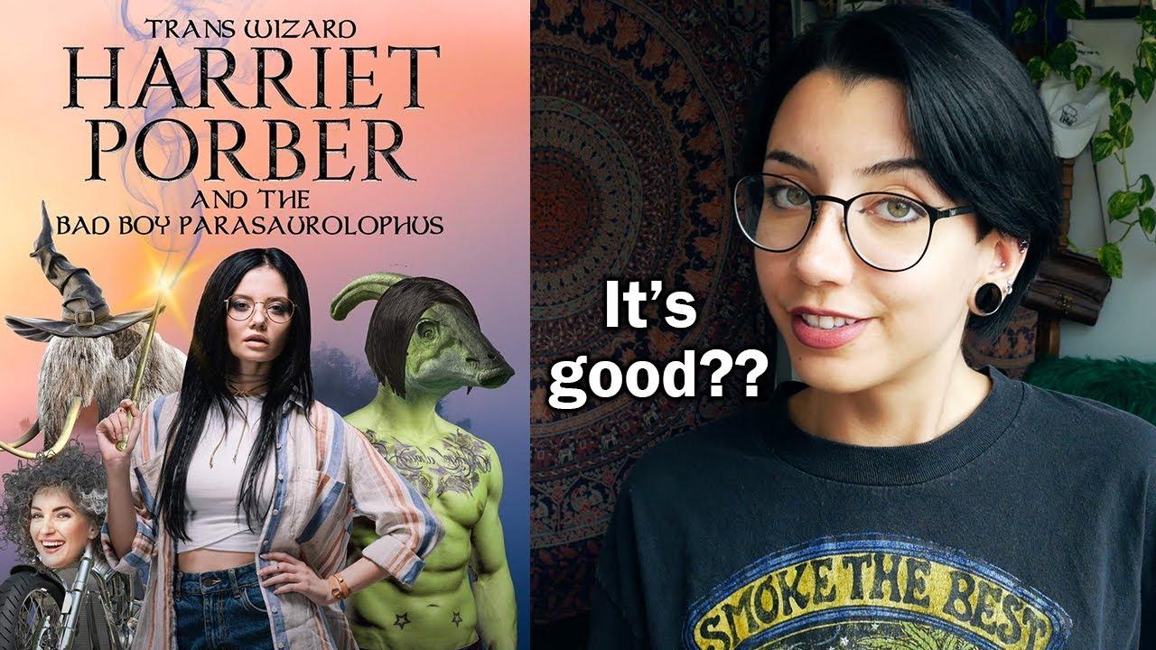 I Read Trans Wizard Harriet Porber