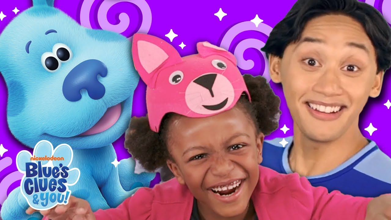 Mailtime & Silly Town Fun!   Josh & Blue's Vlog #14   Blue's Clues & You!