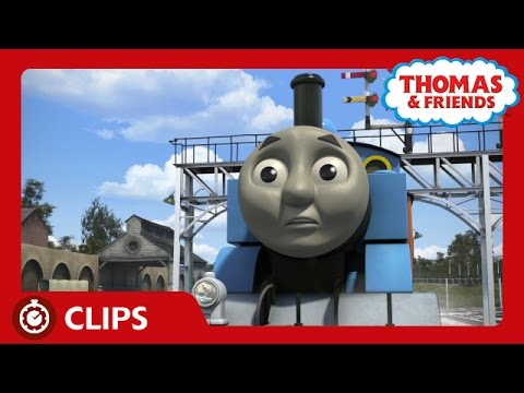 Nervous Thomas Hides Geoffrey in a Tunnel  s  Thomas & Friends