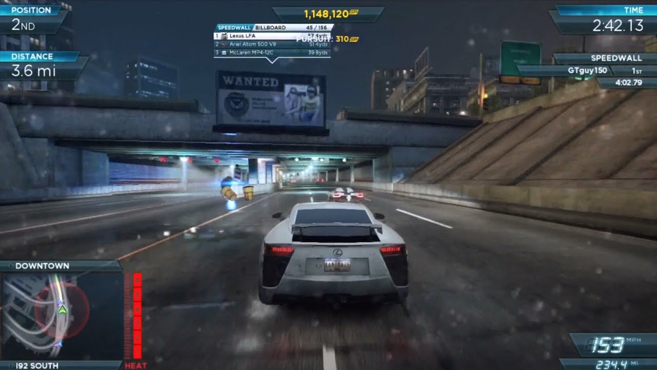 Need For Speed Most Wanted 2012 Final Race Youtube