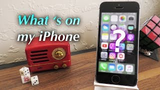 What's on my iPhone SE? (July 2017)