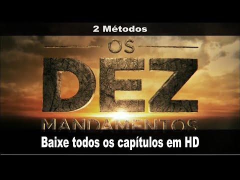 Como baixar capítulos da novela Os Dez Mandamentos da Record (todos os capítulos em HD) 2 Métodos