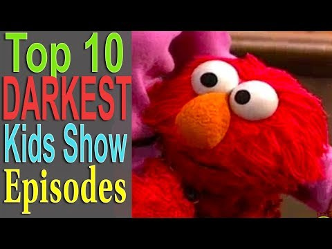 Top 10 Darkest Kids Show Episodes (ft. BlameitonJorge)