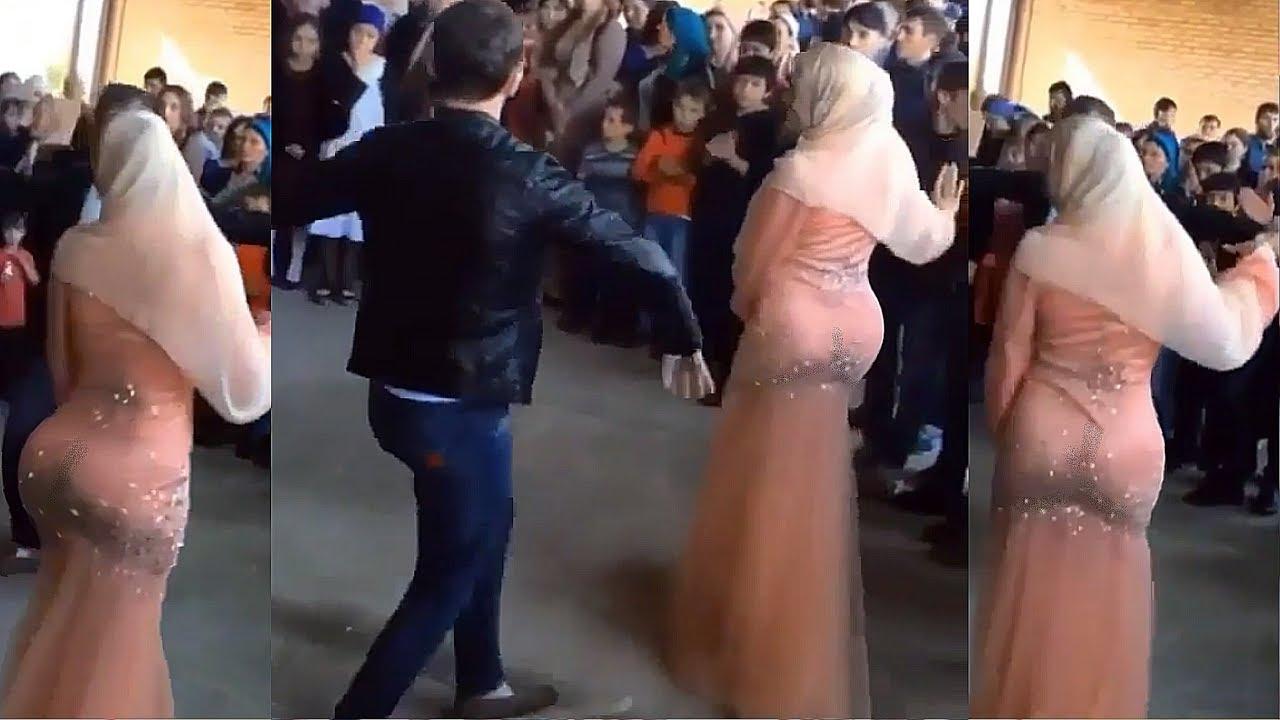 Ето как се танцува на чеченска сватба! Тези са страшни!