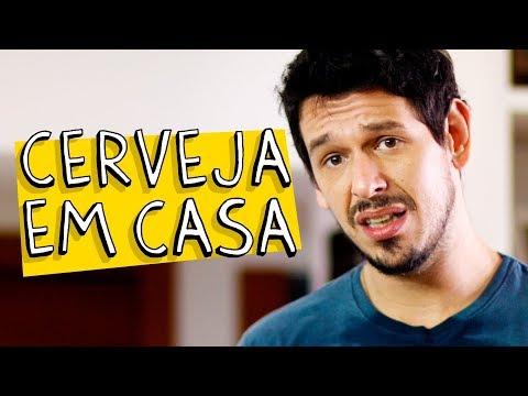 CERVEJA EM CASA