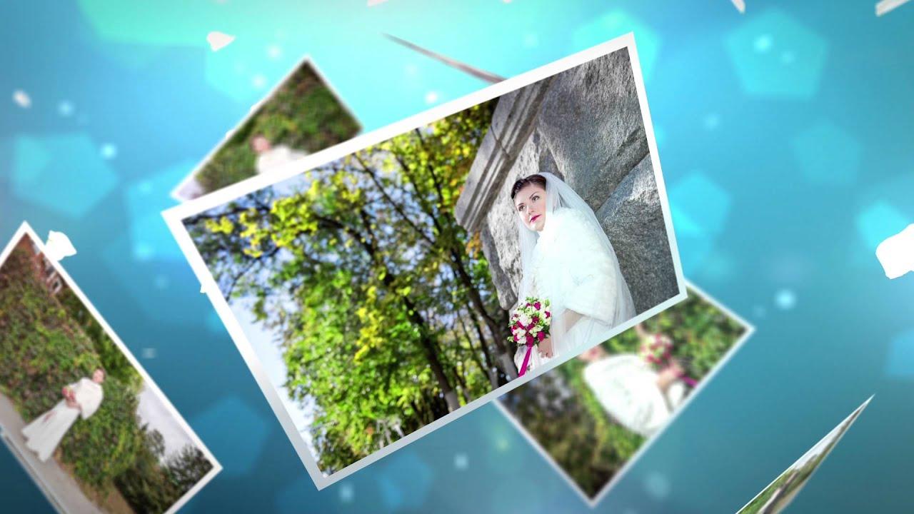 Слайд шоу из фотографий на свадьбу