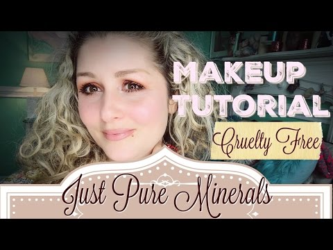 "Cruelty Free Beauty Just Pure Minerals ""Get Ready with me, Makeup TUTORIAL"