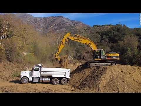 Landslide Risk Replaces Flame Risk In California