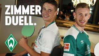 ZIMMERDUELL: Florian Kainz & Marco Friedl | SV Werder Bremen