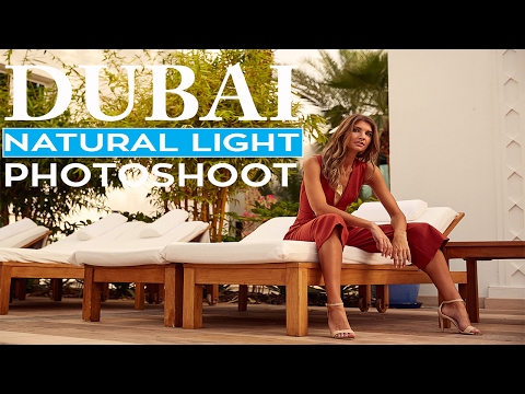 How To Do A Natural Light Photoshoot in Dubai