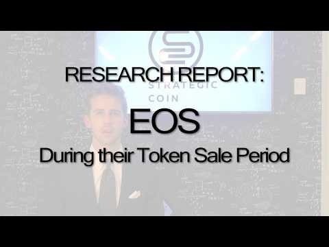 EOS ICO / TGE Token: Cryptocurrency Scalability Solved - Research Report