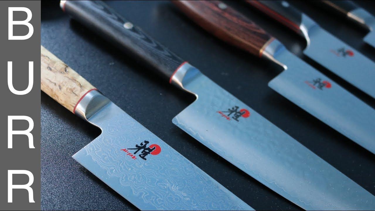 Miyabi Mizu vs Artisan vs Birchwood vs Fusion Morimoto Gyuto Chef ...
