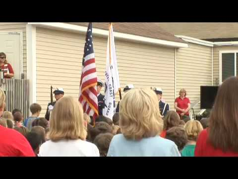 Flag Day at Deans Mill School