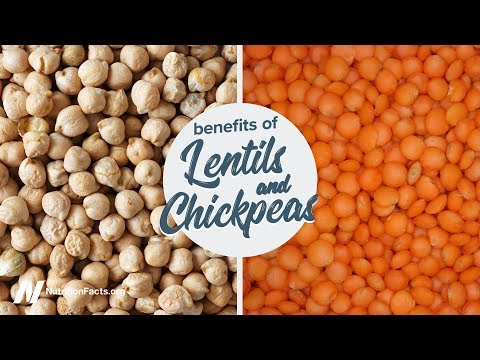 Benefits of Lentils and Chickpeas