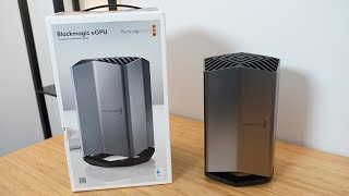 Hands-On With Apple's New $699 Blackmagic eGPU