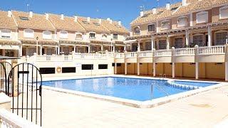 Таунхаус в Santa Pola, Аликанте, Испания. Недвижимость в Испании с видом на море, гаражом, бассейном