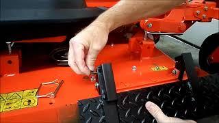 Cub Cadet - how to make a chute blocker for a zero turn mower