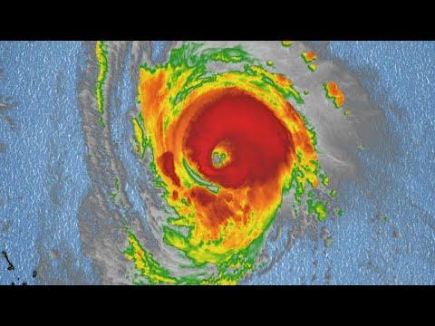 Hurricane Florence threatening