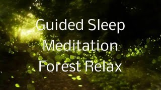 Guided Sleep Meditation FOREST RELAX By Jason Stephenson