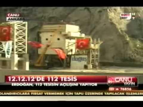 Boyabat Barajı Açılışı   2012