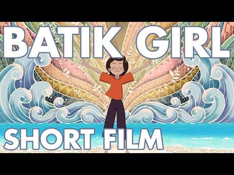 Batik Girl - 2D animated short film - YouTube