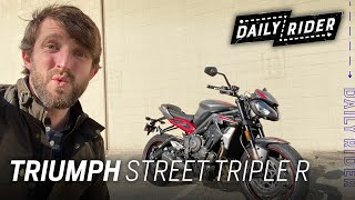 2021 Triumph Street Triple R | Daily Rider