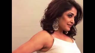 46 years old #Ramya Krishnan#make Hot Sexy photo shoot scene . in this shoot she looks sexy. uff