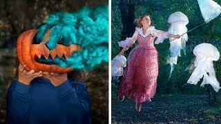 19 خدعة تصوير إبداعية / ابتكارات صور مرعبة للهالوين