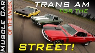 1970 Trans Am Cars For The Street: Muscle Car Of The Week Episode 269 V8TV