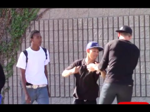 Calling Black People The N Word Prank (GONE WRONG) - Nigga Prank In The Hood