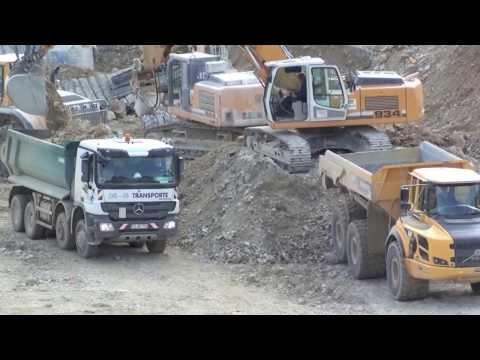 NBS Baustellenfortschritt 18.10.13 Hohenstadt mit Zeitraffer-Abschnitt