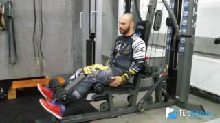 Разгибание ног - ошибки в упражнении