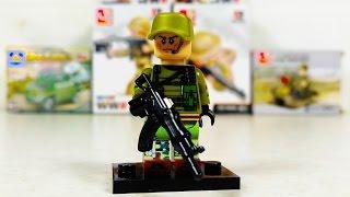Обзор военного конструктора для мальчиков Современная война
