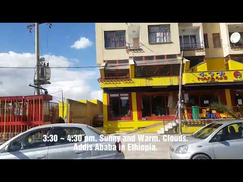Addis Ababa in Ethiopia Today Weather information 18. April 2019 에티오피아 날씨 정보
