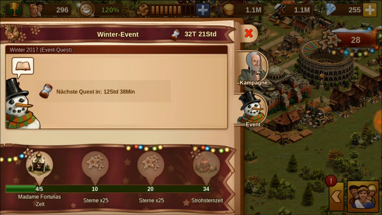 ❄ Forge of Empires WINTER EVENT / QUEST 2017 ❄ Teil 1 - YouTube