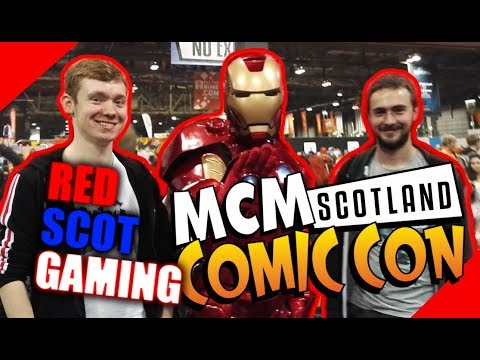 RSG | ComicCon Scotland '17 Clips - Lightsaber Guy! Peter Davison (5th Doctor) - Cosplays - MORE!