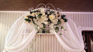 День 4: Оформление свадебной арки. Курс свадебной флористики и декора