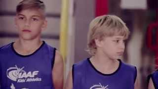 """Відеоурок від ФЛАУ та """"Nestle Україна"""" «Дитяча легка атлетика IAAF»"""