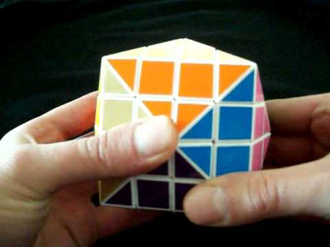 3d printed Rubik's cube type puzzle modification