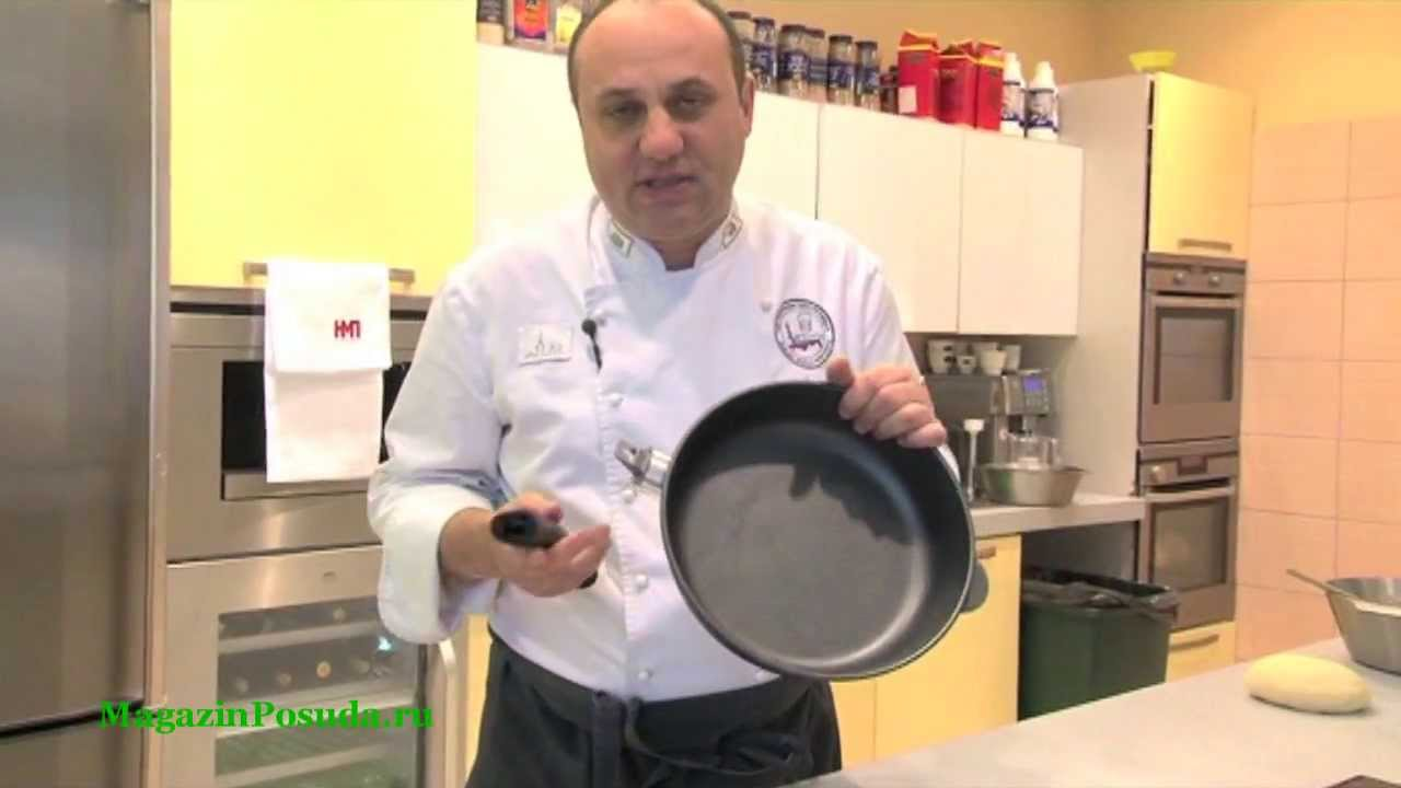 Сковорода блинная Титан Нева Металл посуда - YouTube