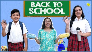 BACK TO SCHOOL | Getting Ready For School | Aayu and Pihu Show