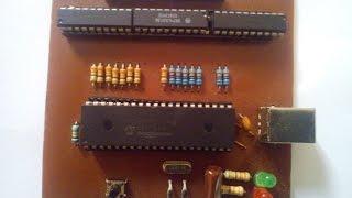 طريقة صنع الدوائر الالكترونية المطبوعة PCB في المنزل - Fabriquer votre circuit imprimé