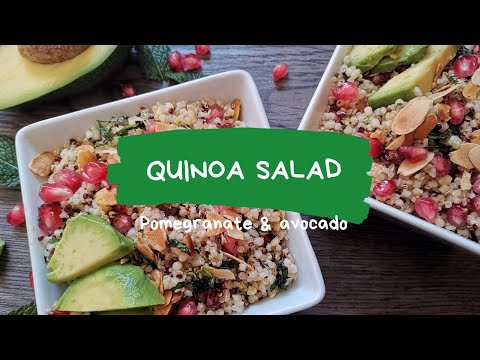 healthy-quinoa-&-pomegrenate-salad-[vegan-recipe]