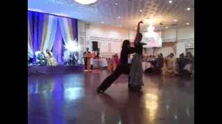 Salsa dance indian wedding with Ole