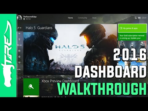 Xbox One Dashboard 2016 Summer Update Walkthrough (New Xbox One Experience Dashboard 2016)