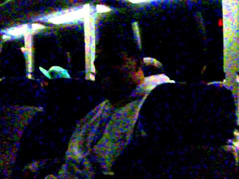 SAAB Group in INDIANA (Buisnes Conference) rapping on the bus