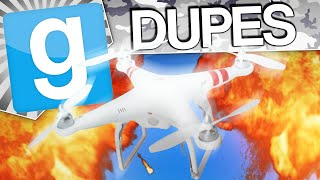 Repeat youtube video DRONE BATTLE - Gmod Dupes (Garry's Mod Funny Moments)