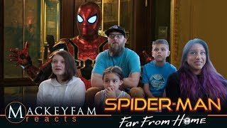 SPIDER-MAN: FAR FROM HOME - Official Trailer- REACTION and REVIEW!!!