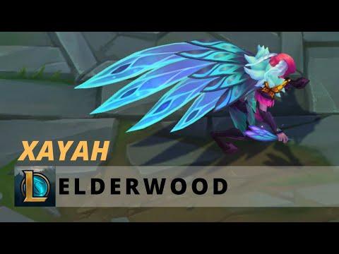 Elderwood Xayah - League of Legends