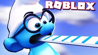 SMURF OBBY IN ROBLOX!